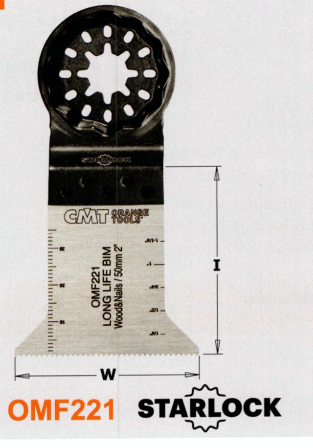 CMT 50 mm Sägeblatt OMF221