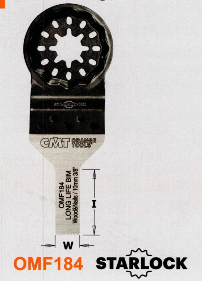 CMT 10 mm Sägeblatt OMF184