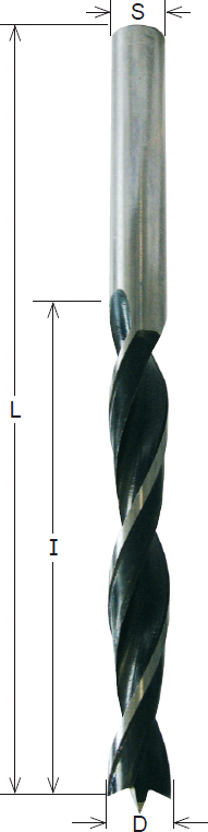 CMT SP-Spiralbohrer