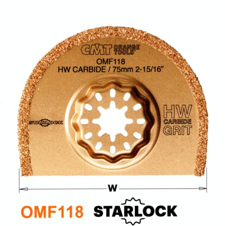CMT 75 mm Segmentsägeblatt Hartmetall OMF118