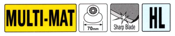 CMT 70 mm Schneidmesser OMF245