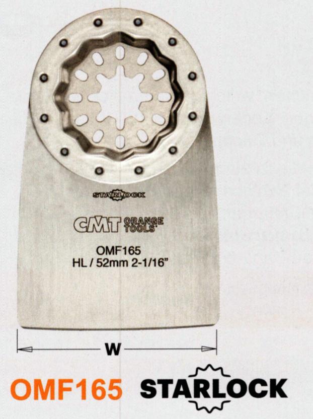 CMT 52 mm Schaber flexibel OMF165