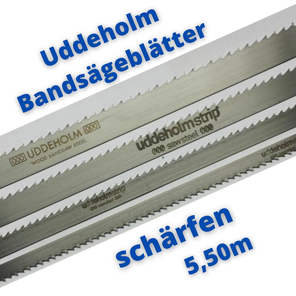 Uddeholm Schwedenstahl Bandsägeblatt schärfen 5,50m ab 10mm