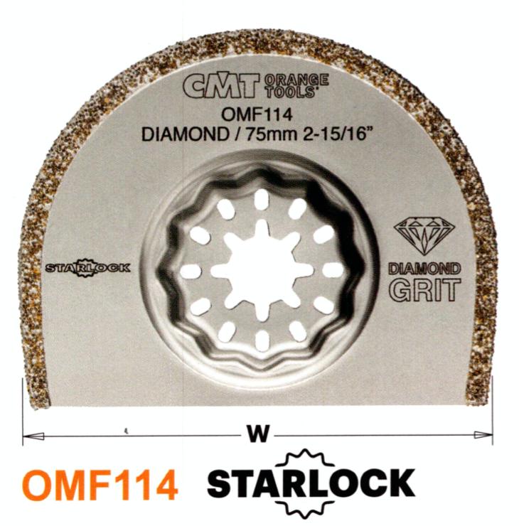 CMT 75 mm Segmentsägeblatt Diamant OMF114