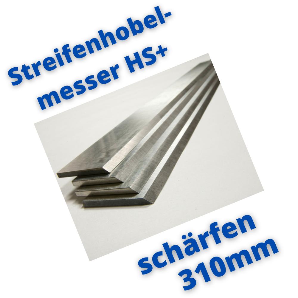 Hobelmesser 310mm schärfen