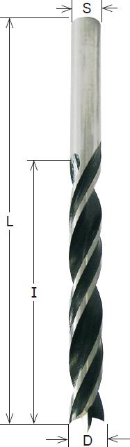 CMT HS-Spiralbohrer