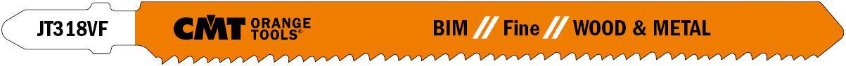 CMT JT318VF BIM // Fine // WOOD & METAL