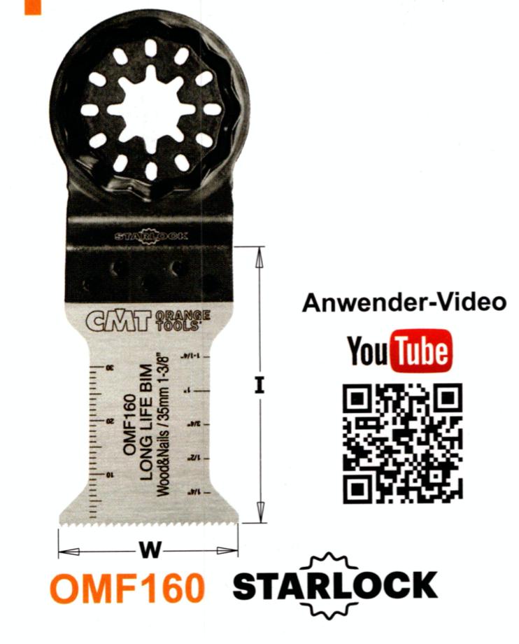 CMT 35 mm Sägeblatt OMF160
