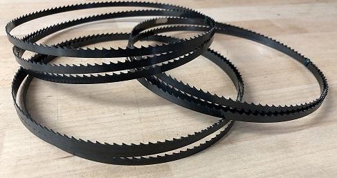 3x Bandsägeblätter 1400mm x 6mm x 0,65mm 6ZpZ