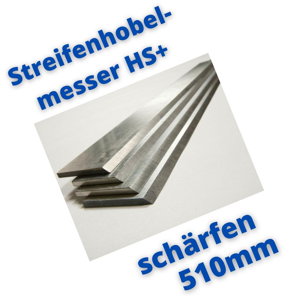 Hobelmesser 510mm schärfen