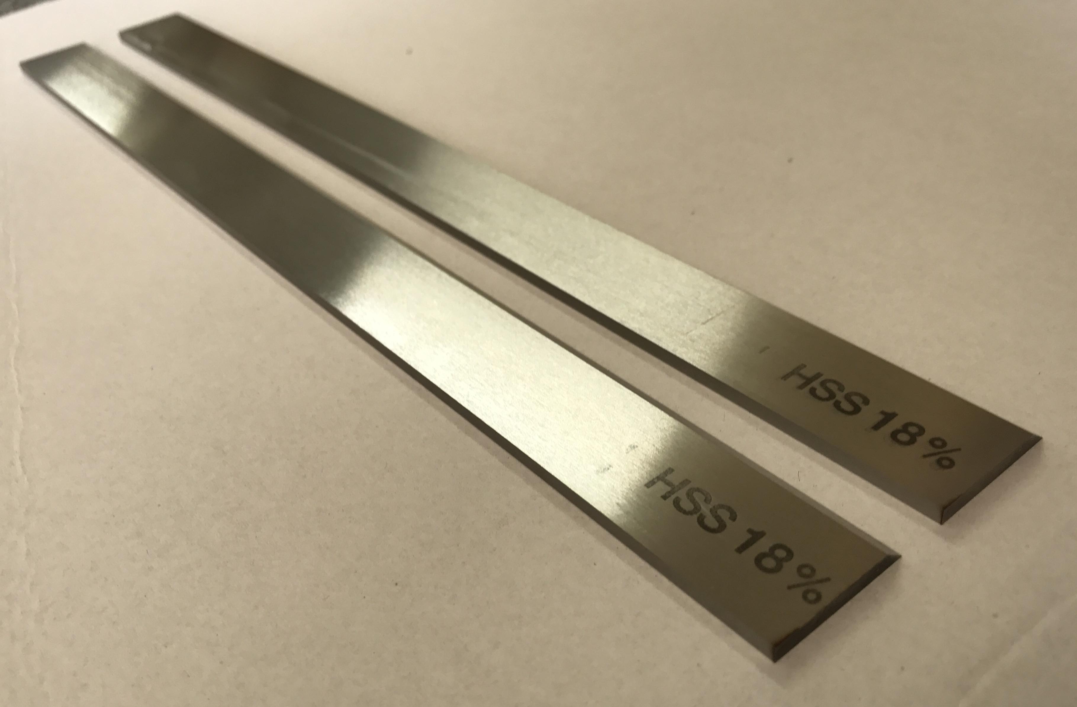 2x-Streifenhobelmesser-18%-HSS 260mmx20mmx3mm