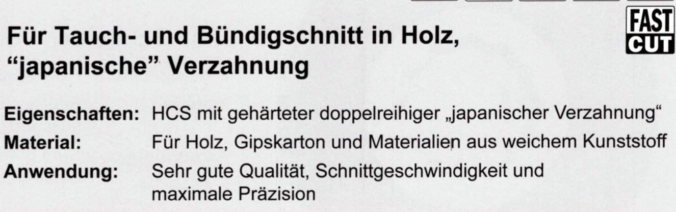 CMT 35 mm Präzisions-Sägeblatt OMF126