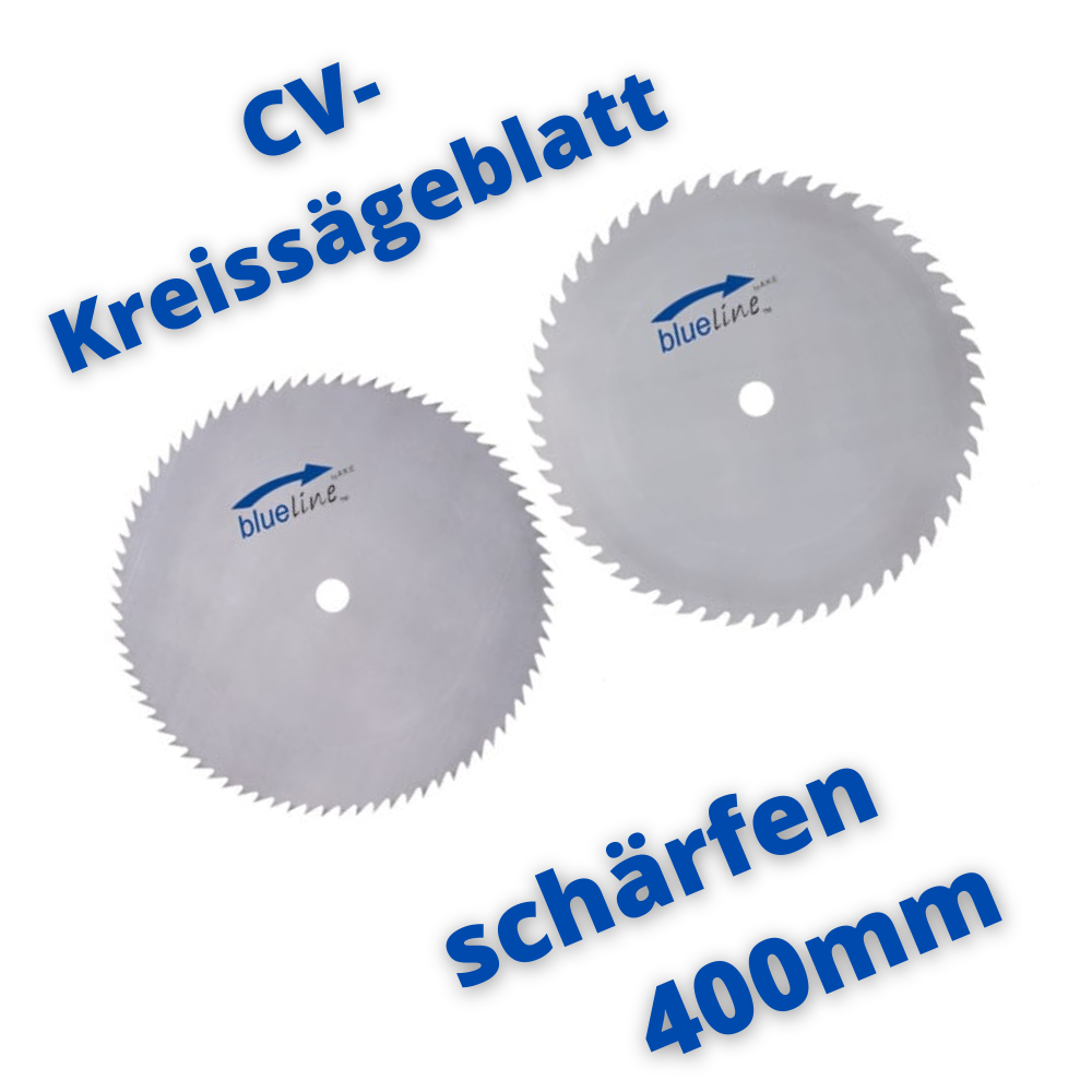 CV-Kreissägeblatt schärfen 400mm